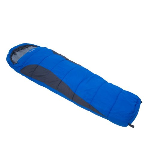 HILO 200 SINGLE LAYER LINED RIPSTOP MUMMY SLEEPING BAG OXFORD BLUE